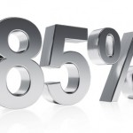 advance up to 85%